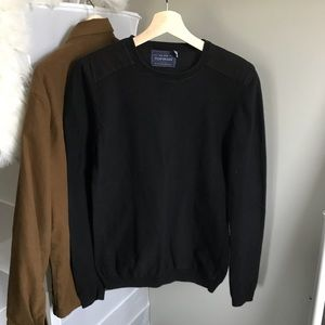 Topman Sweater with Shoulder Patches
